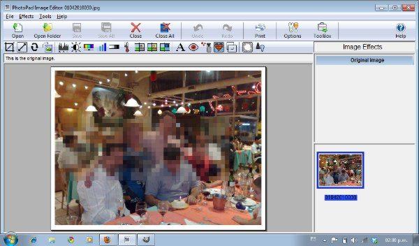 PhotoPad - Interfaz