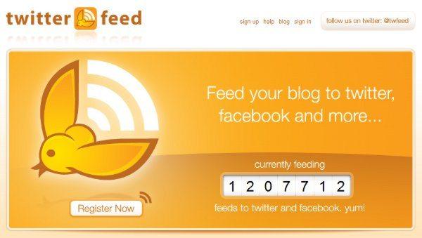 Twitter-Feed 3 Opciones para publicar un feed en Twitter