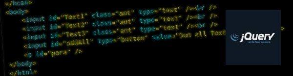 jquery-como-sumar-numeros Cómo sumar con jQuery los valores numéricos presentes en campos de formularios web