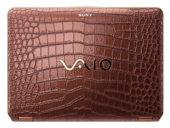 3-Sony-VAIO-piel-de-cocodrilo Una Sony VAIO muy especial forrada de piel de cocodrilo