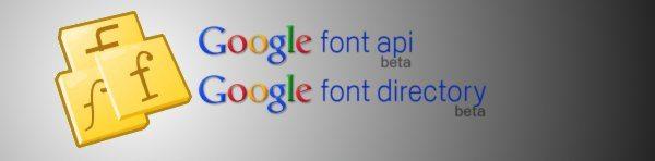 Google Font API - Google Font Directory