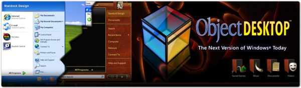 ObjectDesktop ObjectDesktop - Un menú animado tipo Mac para Windows