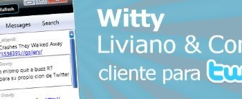 Witty - Cliente Twitter