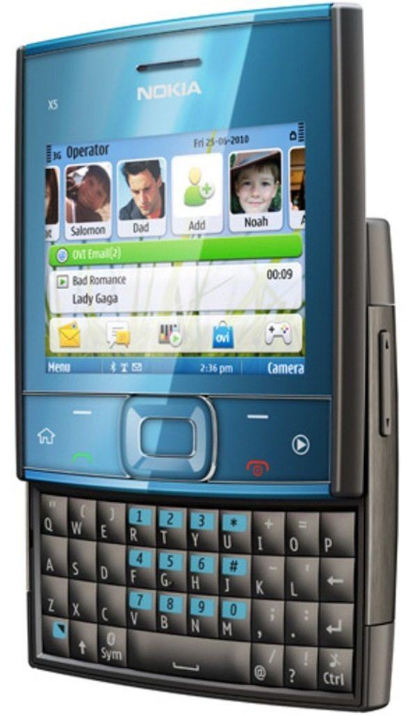 2-Nokia-X5-redes-sociales-cuadrado Nokia X5: Un colorido celular de Nokia con diseño cuadrado