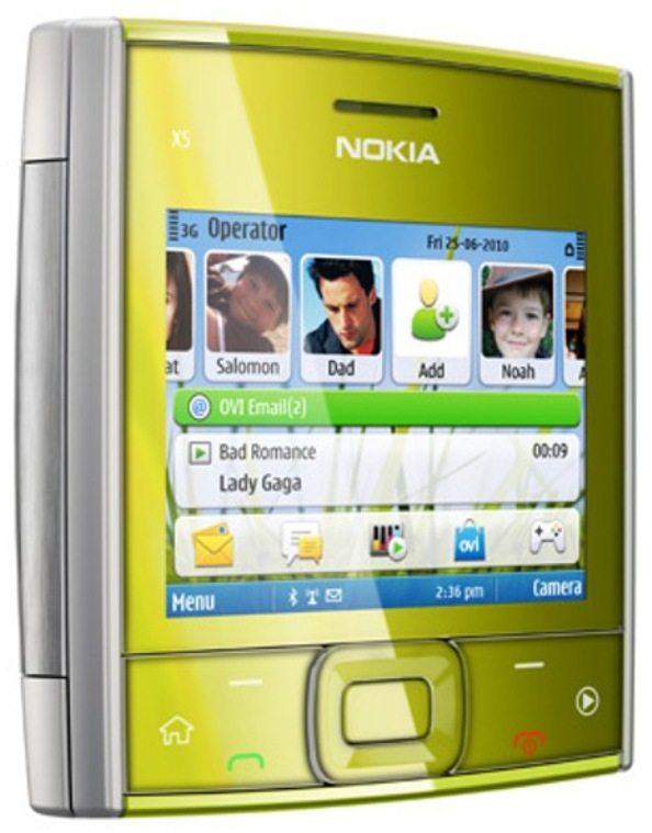 3-Nokia-X5-redes-sociales-cuadrado Nokia X5: Un colorido celular de Nokia con diseño cuadrado