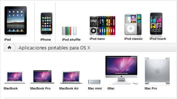 Aplicaciones portables para OS X
