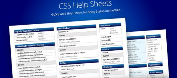 CSS3-Help-Sheet 14 Recursos para trabajar con CSS3