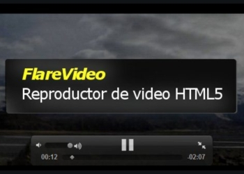 FlareVideo - Reproductor de video HTML5