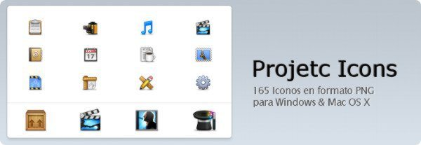 Project Icons - Iconos vectoriales para WIndows y Mac OS X