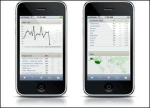 SlimStat - Interfaz para iPhone