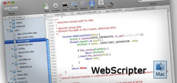 WebScript IDE
