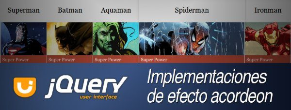 jQuery UI - Acordeon