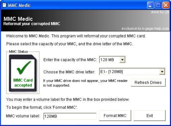 2-MMC-Medic-arregla-tarjetas MMC Medic: Programa gratuito para arreglar tarjetas de memoria dañadas