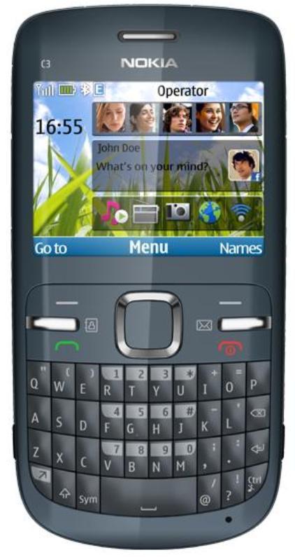 2-Nokia-C3-redes-sociales-novedad Nuevo Nokia C3: Un celular social para todos los bolsillos