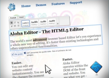 Aloha - Editor HTML5