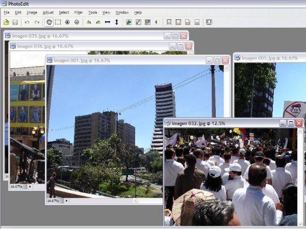 PhotoEdit - Editor de imagenes