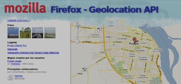 Tutorial - Firefox Gelocalization API