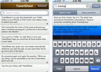 TweetSheet para iPhone, iPod y iPad