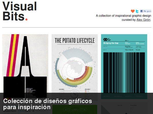 Visual Bits - Galería de diseños gráficos
