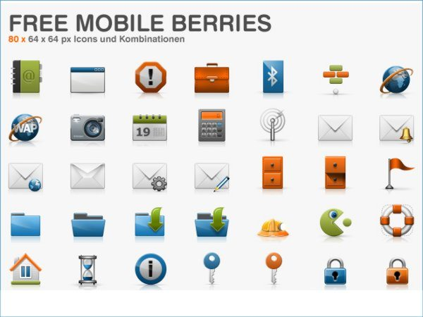Free Mobile Berries - iconos gratis