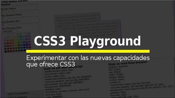 CSS3 Playground