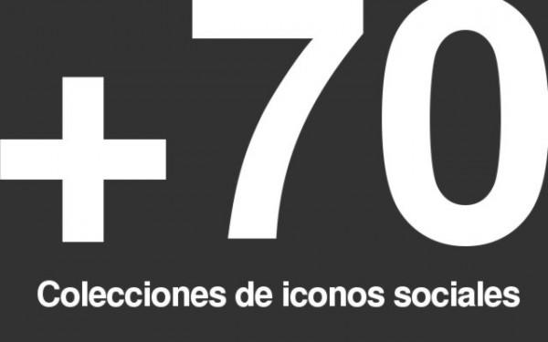 Colecciones iconos sociales