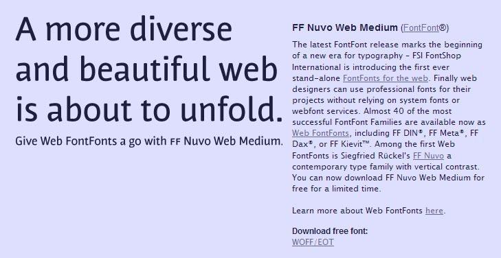 FF Nuvo Web Font