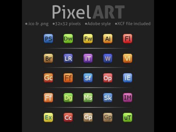 PixelArt icons