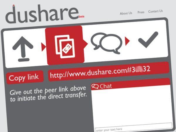 Dushare - Servicio para compartir archivos