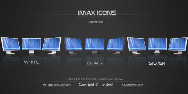 iMax icons