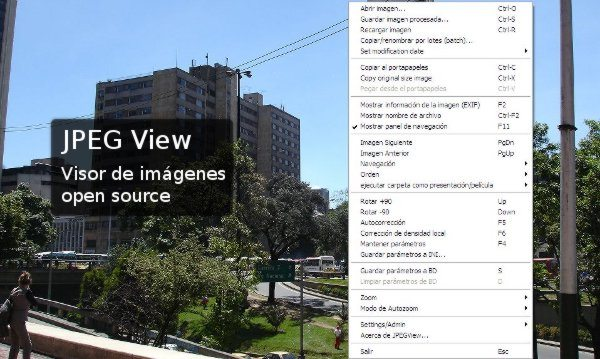 JPEG View visor de imagenes open source