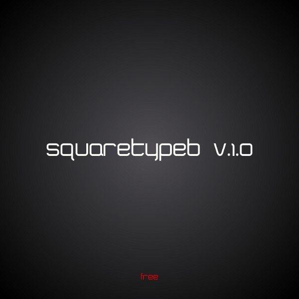 squaretypeb free font