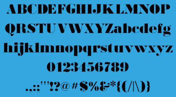 BodoniUltraFLF-free-vintage-font