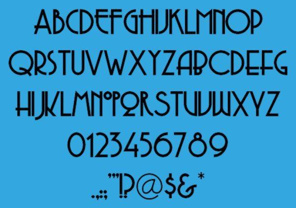 Copasetic-free-vitnage-font