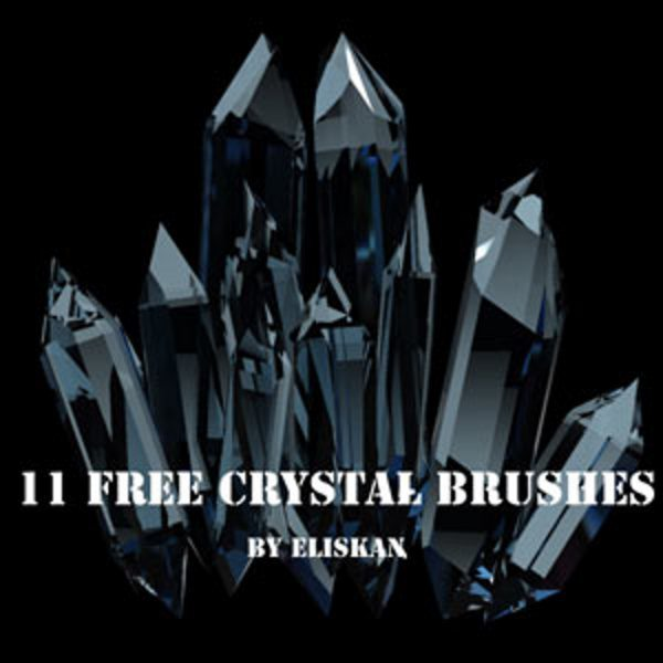 Crystal free brushes