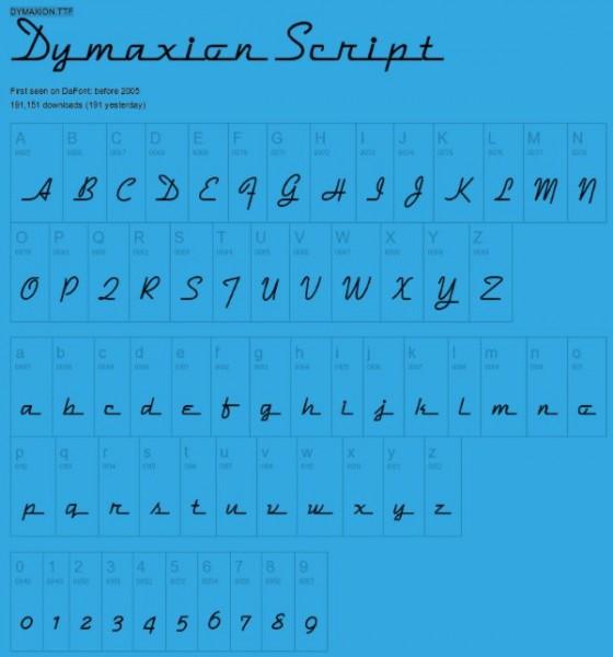 Dymaxion-Script-free-vintage-font