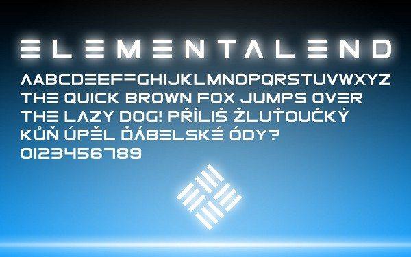 ElementalEnd-free-font