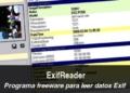 ExifReader - programa freeware para leer datos Exif
