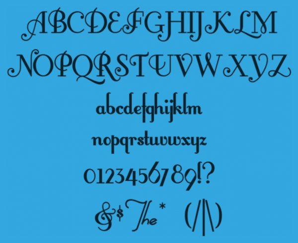 FONTLEROYBROWN-free-vintage-font