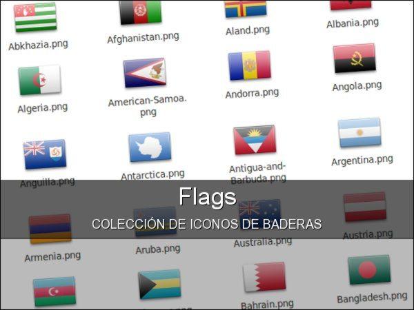 Flags - coleccion de iconos de banderas