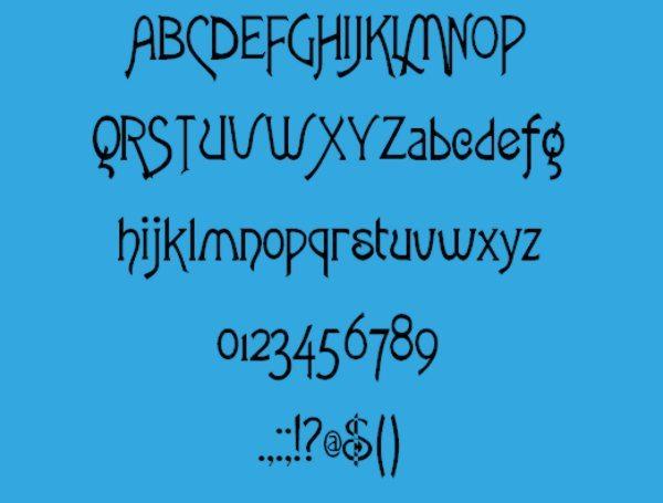 Fletch-Gothic-free-vintage-font