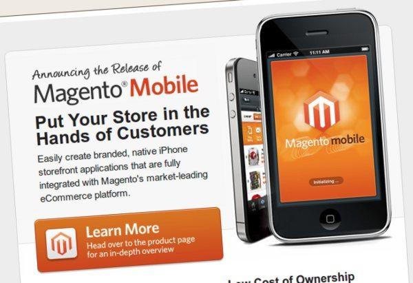 Magento Mobile - Plataforma de comercion electrónico
