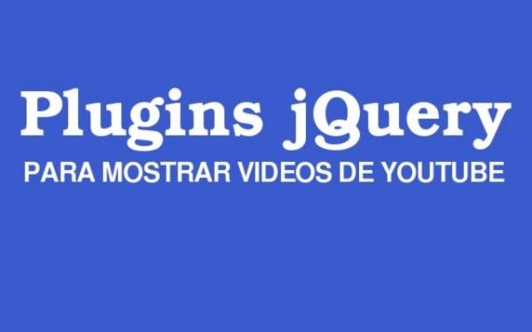 PLUGINS-JQUERY-para mostrar videos de Youtube