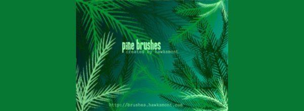 Pine Brushes mega pack-free-Photshop-Brushes