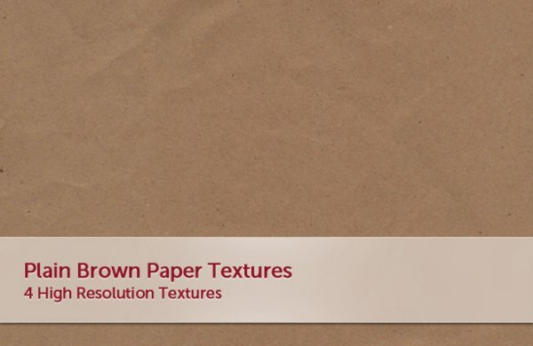 Plain Brown Paper Textures