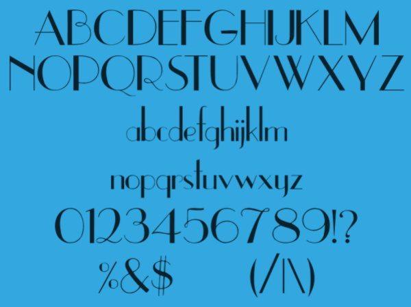 UPPEREASTSIDE-free-vintage-font
