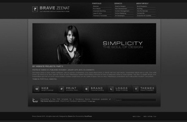 Zeenat-free-WordPress-theme