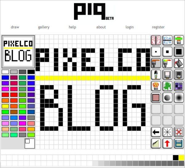 Piq Pixelco blog