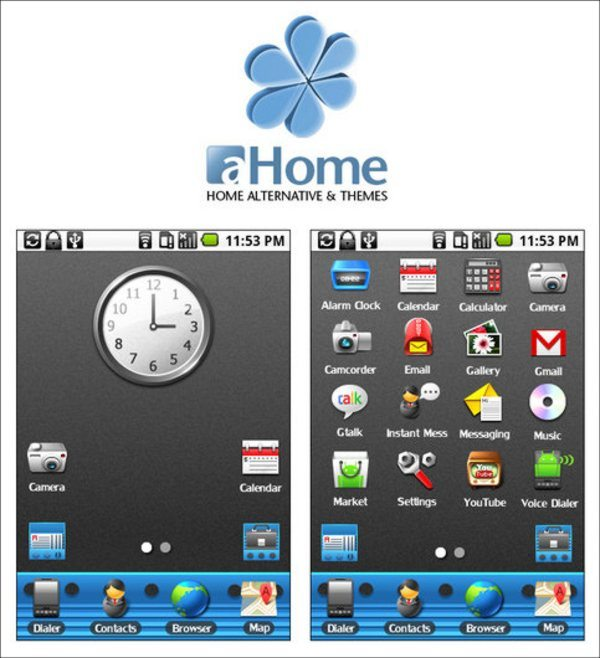 Android Phone Theme Design