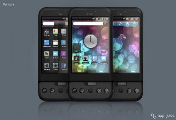 Android Theme Pandora